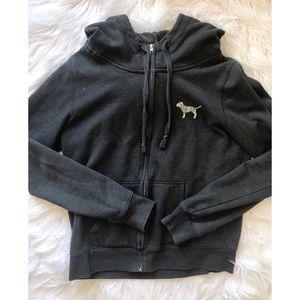 PINK Victoria's Secret Tops - Victoria's Secret PINK zip up hoodie